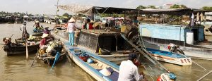 Mekong floating market